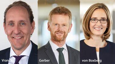 Die Lufthansa Group besetzte im November 2020 drei Airline-Chefposten neu.