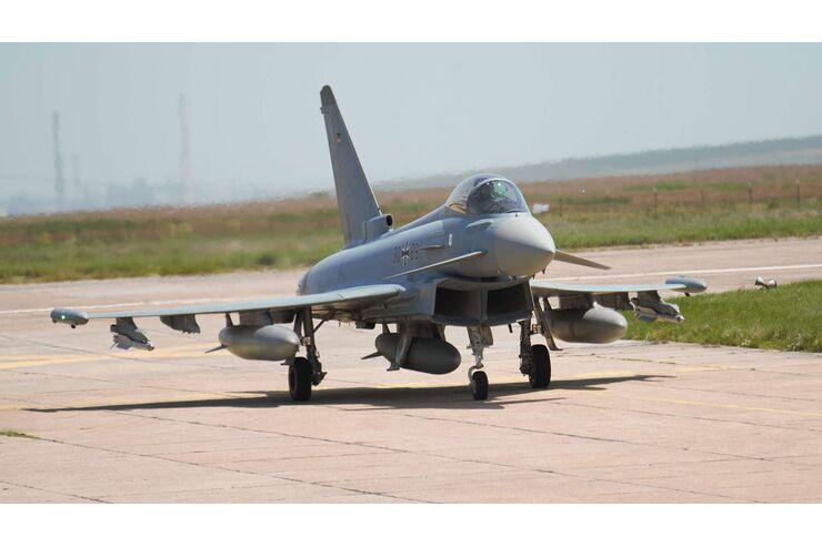 Enhanced Air Policing South: Eurofighter der Luftwaffe in Rumänien