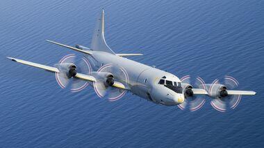 Die Marineflieger sind mit einer P-3C Orion wieder vor dem Horn von Afrika aktiv.