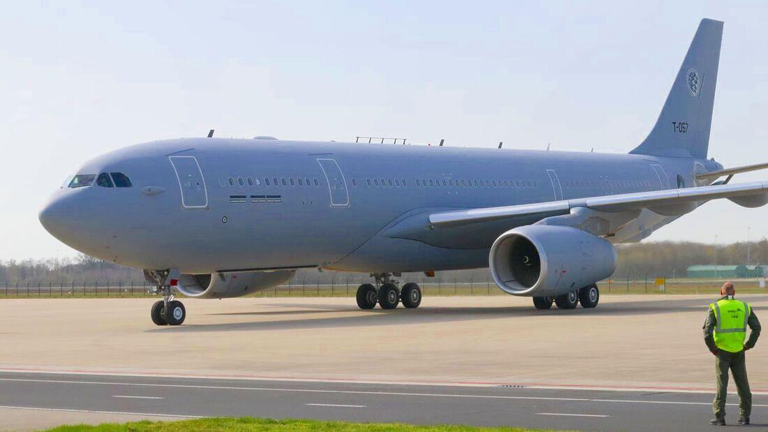 Die Multinational Multirole Tanker Transport Unit in Eindhoven hat am 1. April 2021 ihren vierten A330 MRTT erhalten.