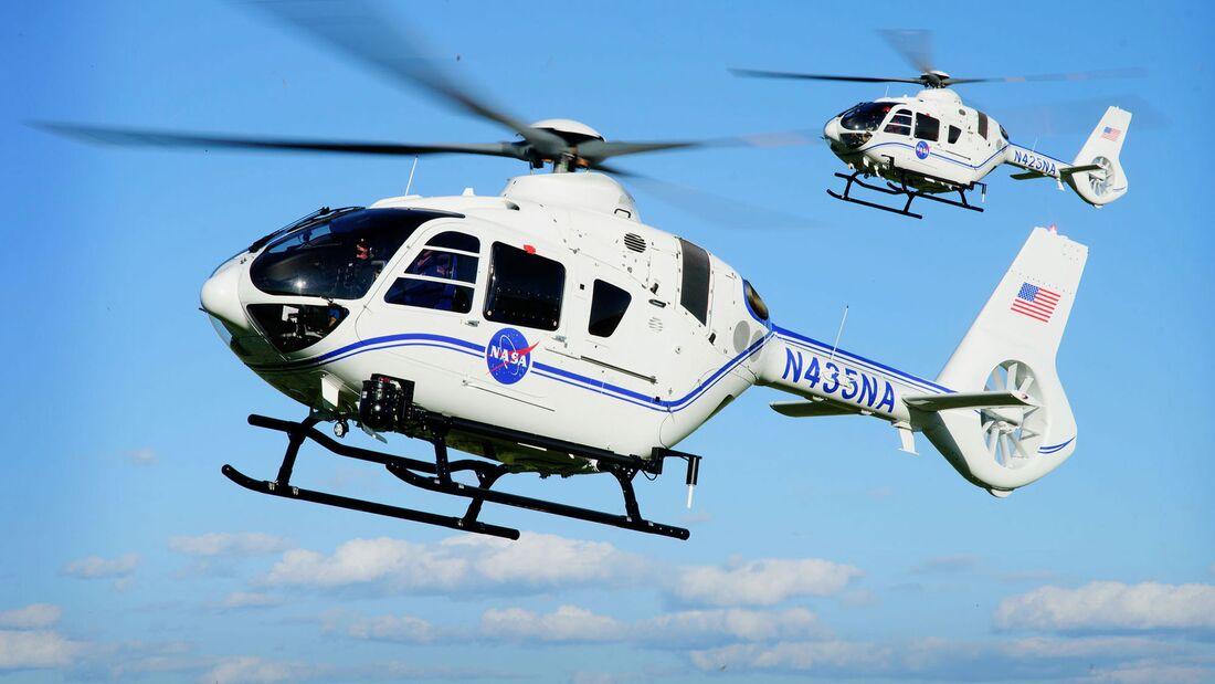 Die NASA erhält drei Airbus Helicopters H135 für Unterstützungsleistungen am Kennedy Space Center.