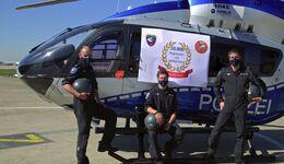 Die Polizeihubschrauberstaffel NRW hat im März 2021 mit ihren H145 10000 Flugstunden erreicht.