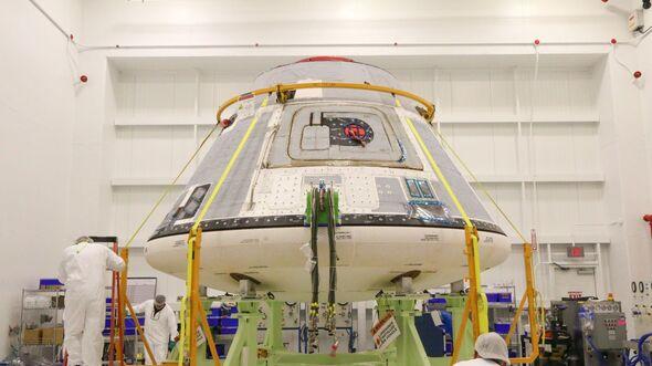 Die Raumkapsel CST-100 Starliner von Boeing