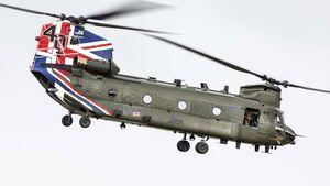 Die Royal Air Force nutzt seit 40 Jahren diverse Varianten des Boeing Chinook.