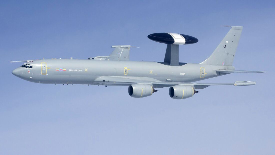 Die Royal Air Force wird ihre Boeing E-3D schon 2021 aßuer Dienst stellen.