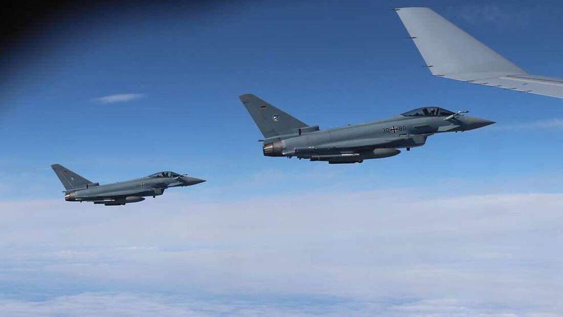 Die Tanker-Unit der NATO aus Eindhoven führte am 24. August 2020 den ersten Luftbetankungseinsatz mit der A330 MRTT durch.