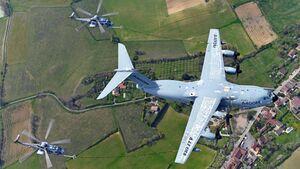 Die Tests mit der A400M zur Betankung von Caracal-Hubschraubern machen weitere Fortschritte.