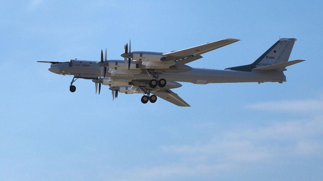 Die Tupolew Tu95MS der russischen Luft- und Weltraumkräfte werden auf den MSM-Standard modernisiert.