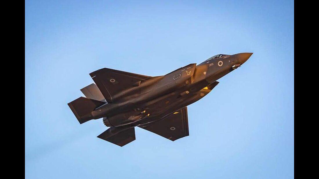 Die Übung Blue Flag im November 2019 findet mit F-35 der Israelischen Luftstreitkräfte statt.