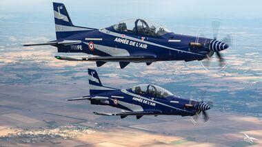Die französischen Luftstreitkräfte haben weitere Pilatus PC-21-Trainer bestellt.