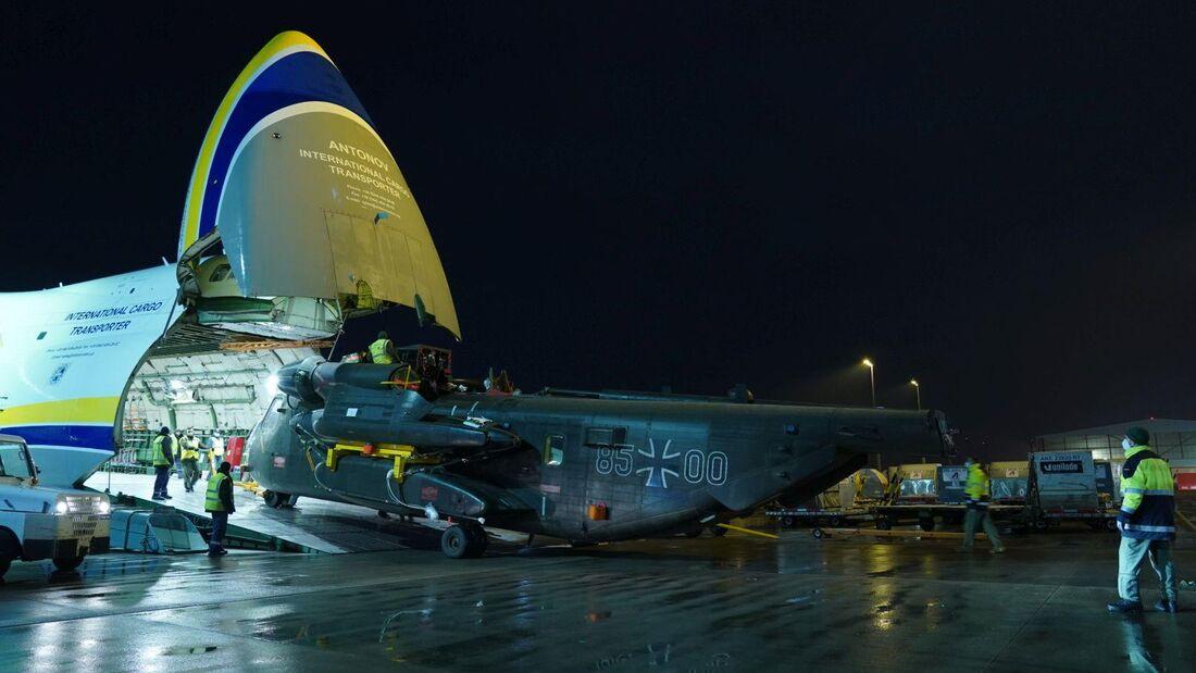 Die letzte CH-53G der Luftwaffe ist aus Afghanistan zurück.