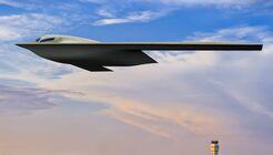 Die neueste Zeichnung der Northrop Grumman B-21 Raider vom Juli 2021.