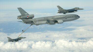 Die niederländische Luchtmacht hat ihre beiden KDC-10 ausgemustert.