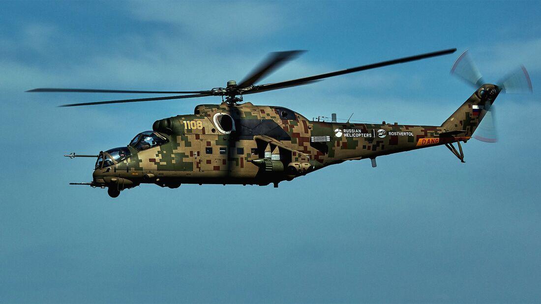 Die verbesserte Mi-35P geht bei Rostvertol in Serie.