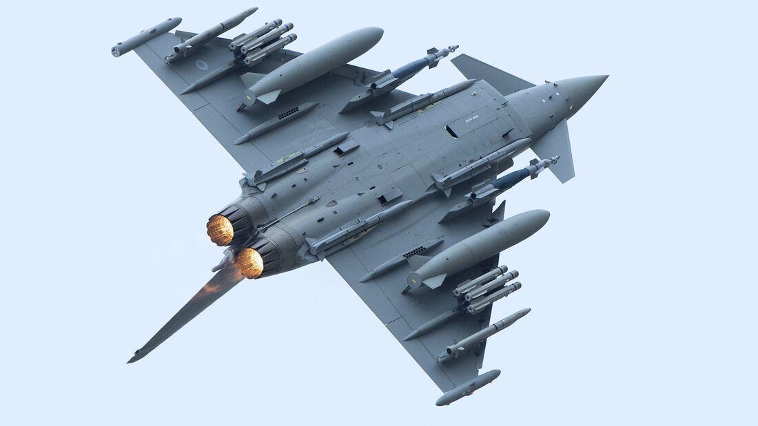 Die vier Eurofighter-Partnerländer haben neue Modernisierungsmassnahmen für den Eurofighter beauftragt.