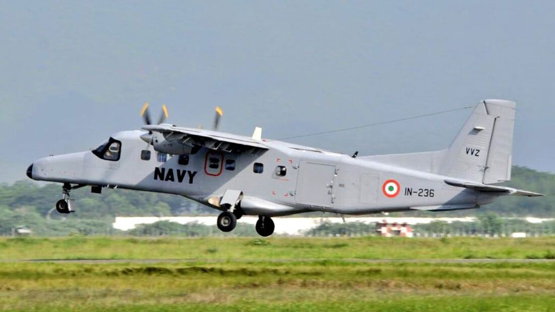 Dornier 228 der indischen Marine.