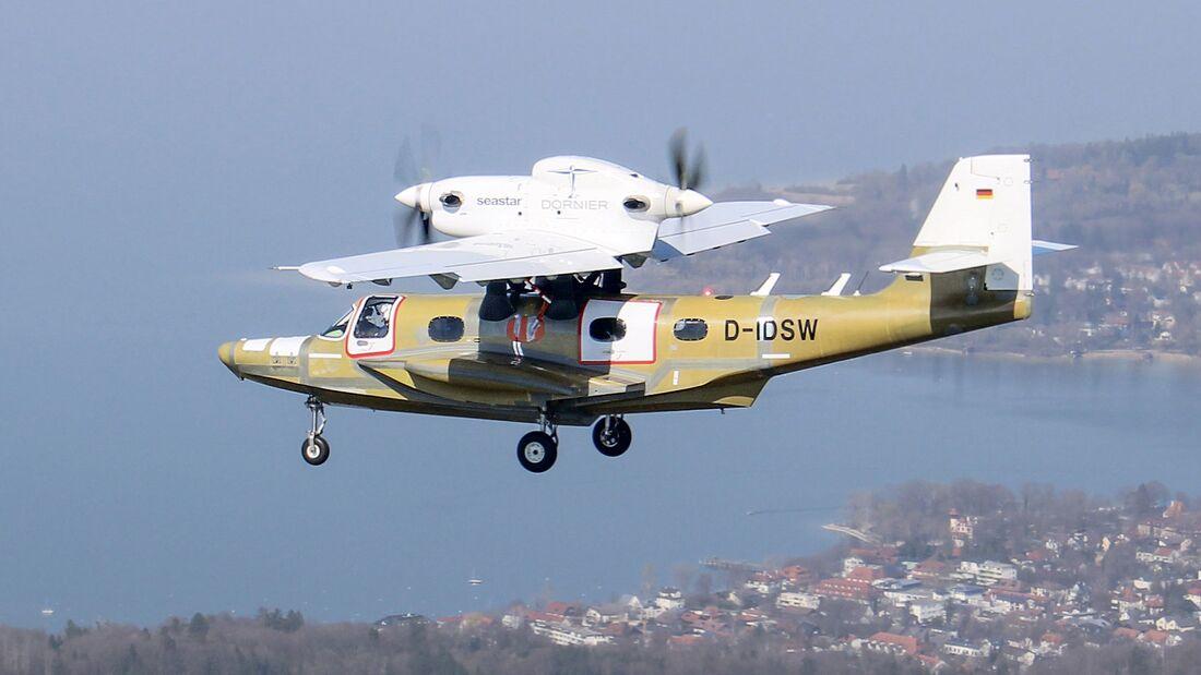 Dornier Seawings brachte die neue Ausführung des Seastar am 28. März 2020 in Oberpfaffenhofen in die Luft.
