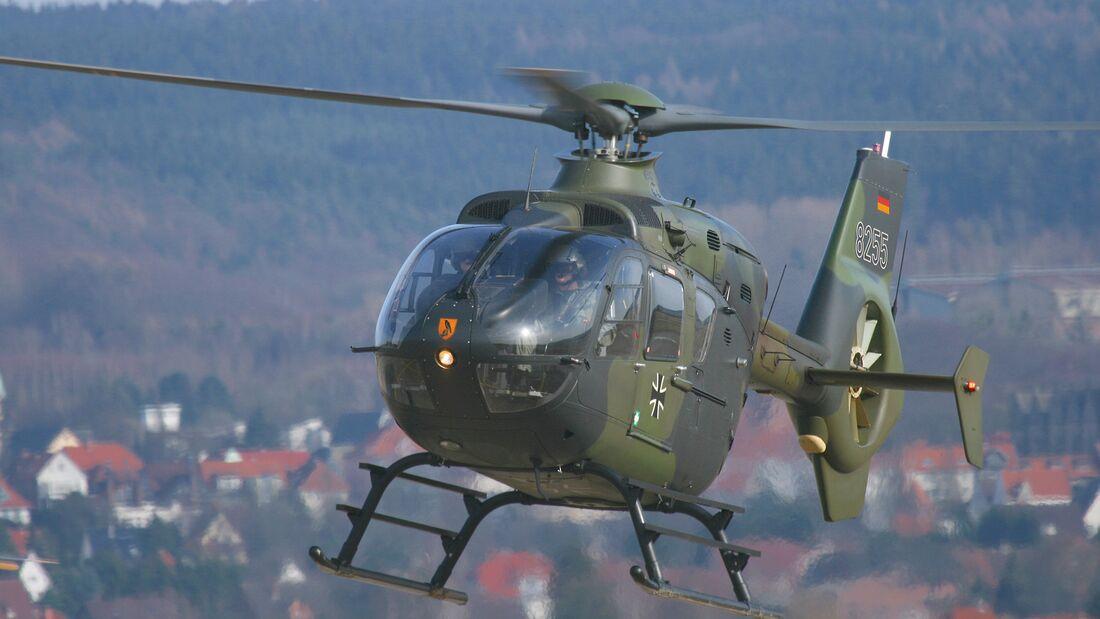 EC 135 der Heeresflieger in Bückeburg.