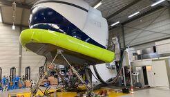 Ein Simulator für die Dornier 328 Turboprop steht nun in Velbert/Essen zur Verfügung.