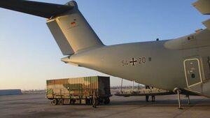 Eine A400M der Luftwaffe hat am 13. März 2021 eine Heron 1 von IAI in Israel abgeholt und nach Afghanistan gebracht, um eine abgestürzte Maschine zu ersetzen.