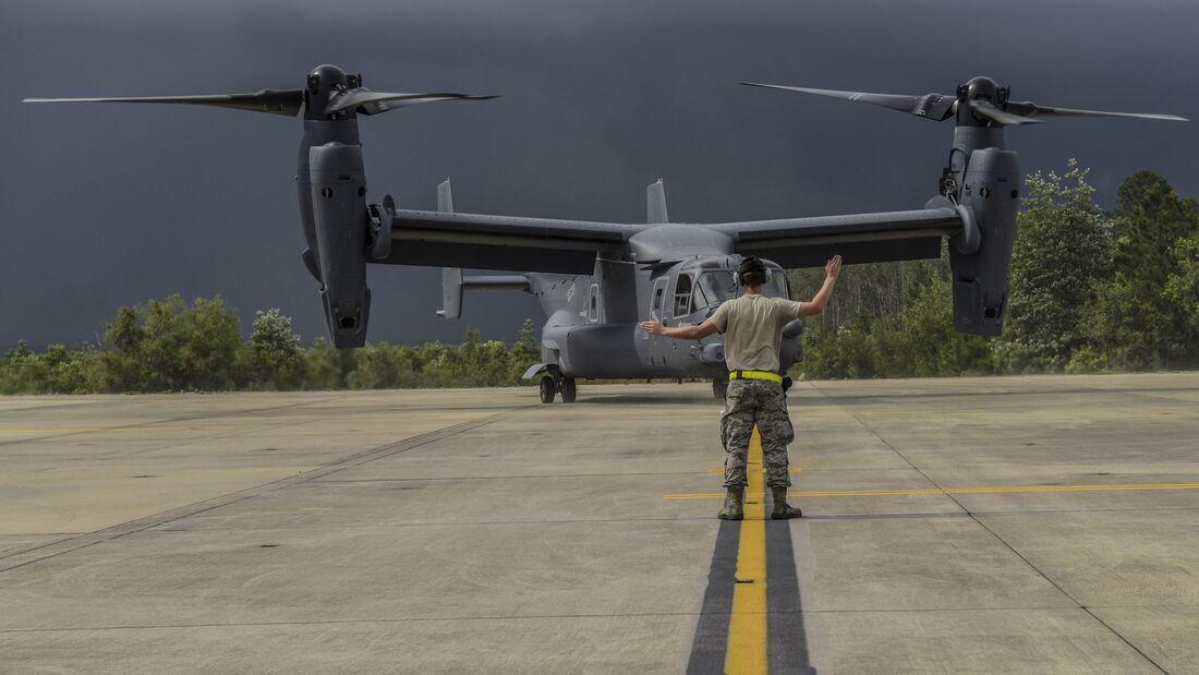 Eine CV-22B für das Special Operations Command war im Juni 2020 die 400. von Bell Boeing ausgelieferte Osprey.