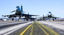 Elephant Walk beim Taktischen Luftwaffengeschwader 74 in Neuburg im März 2021.