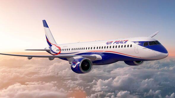 Embraer E195-E2 von Air Peace