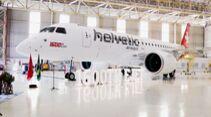 Embraer lieferte sein 1600. Regionalflugzeug der E-Jet-Familie am 1. Juli 2020 an Helvetic Airways aus.