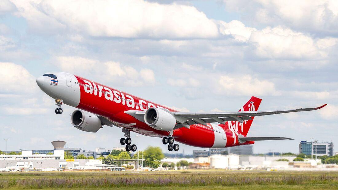 Erste A330neo für Air Asia