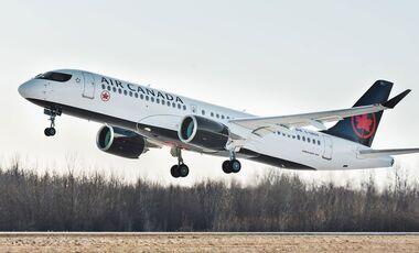 Erste Airbus A220-300 für Air Canada.