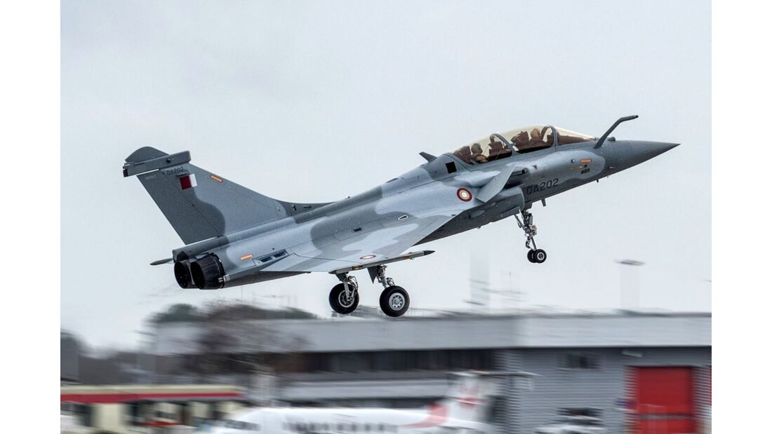 Erste Dassault Rafale für Katar