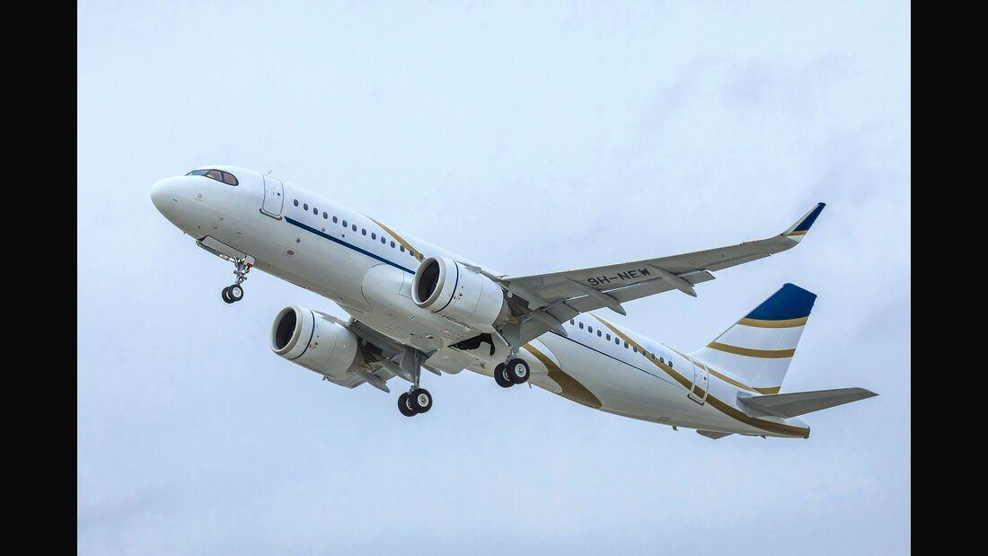 Erster Airbus ACJ320neo für Comlux.
