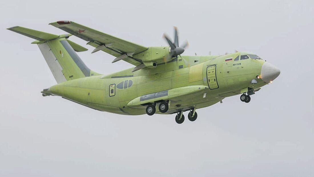 Erstflug der Iljuschin Il-112W am 30. März 2019 in Woronesch