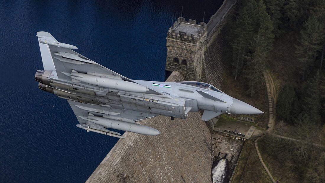 Eurofighter Typhoon der Royal Air Force.