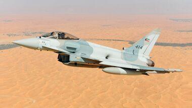 Eurofighter für Kuwait (Fotomontage).