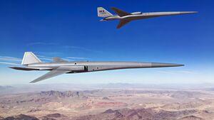 Exosonic untersucht im Auftrag der US Air Force ein überschallschnelles UAV für den Einsatz als Luftkampfgegner.