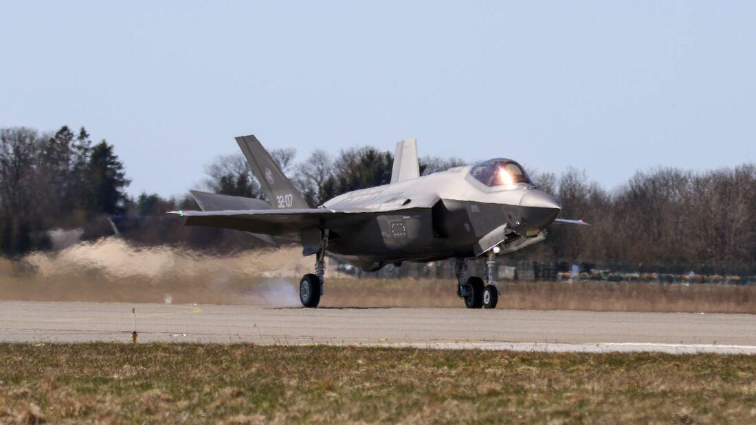 F-35A der Aeronautica Militare übernahmen Ende April 2021 in Ämari von der Luftwaffe.