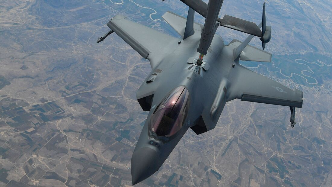 F-35A der US Air Force über dem Irak