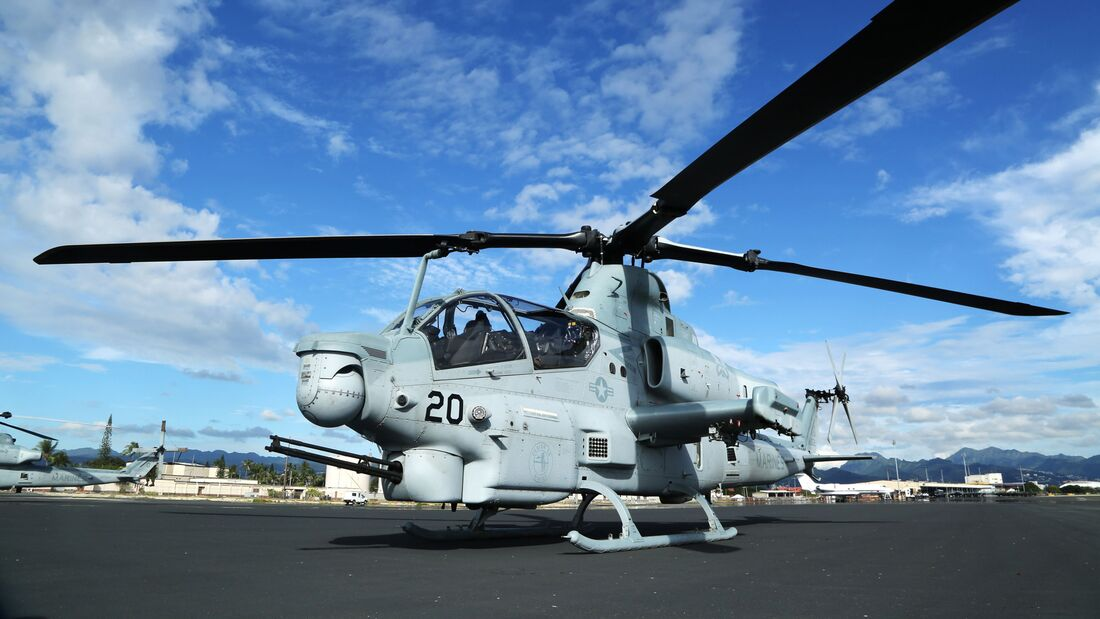First 4th generation attack helicopters in Hawaii arrive
