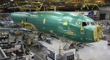 First P-8A Norway fuselage load into SI tool