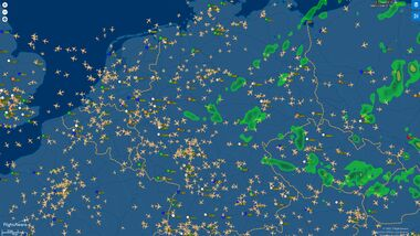 Flight Aware Screenshot 31 August 2021.
