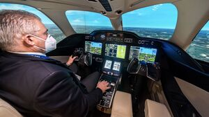FlightSafety bietet nun HondaJet-Simulatortraining in Farnborough.