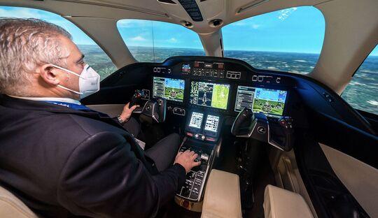 FlightSafety bietet nun HondaJet-Simulatortraining in Farnborough.