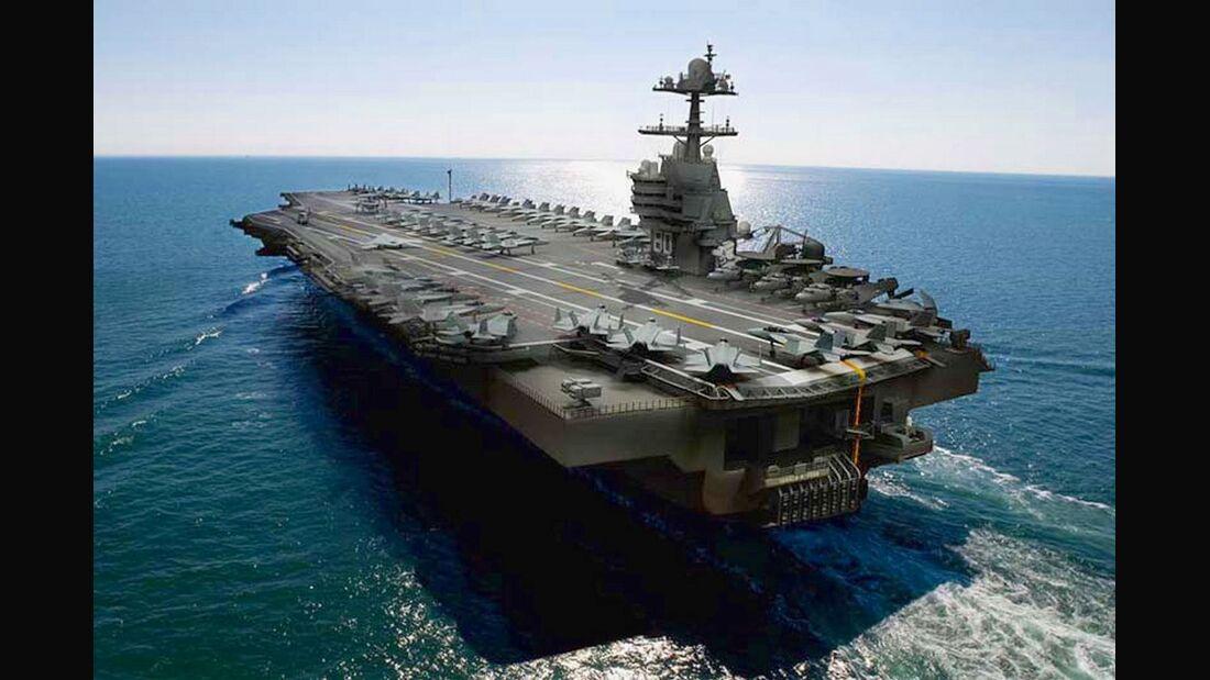 """Flugzeugträger USS """"Enterprise"""" (CVN 80)"""