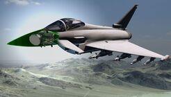 Für die Eurofighter Typhon der Royal Air Force entwickelt Leonardo das ECRS Mk2-Radar.