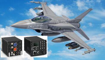Funkgeräte von Rohde & Schwarz werden in Lockheed Martin F-16 Block 70 der Sowakei verbaut.