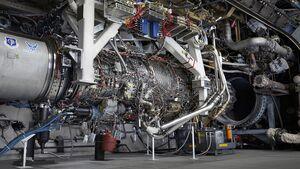 GE Aviation hat sein XA100 mit variablem Nebenstromverhältnis getestet.