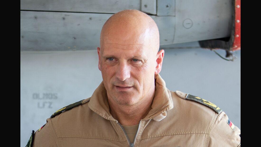 Generalleutnant Ingo Gerhartz, Inspekteur der Luftwaffe.