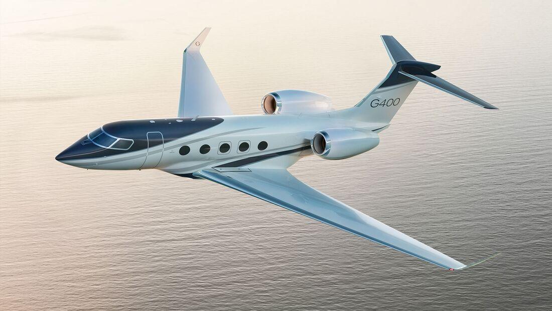 Gulfstream stellte am 4. September 2021 seine neuen Modelle G800 und G400 vor.