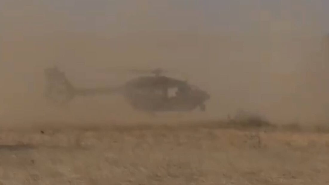 H145 LUH SOF des Hubschraubergeschwaders 64 im Niger.